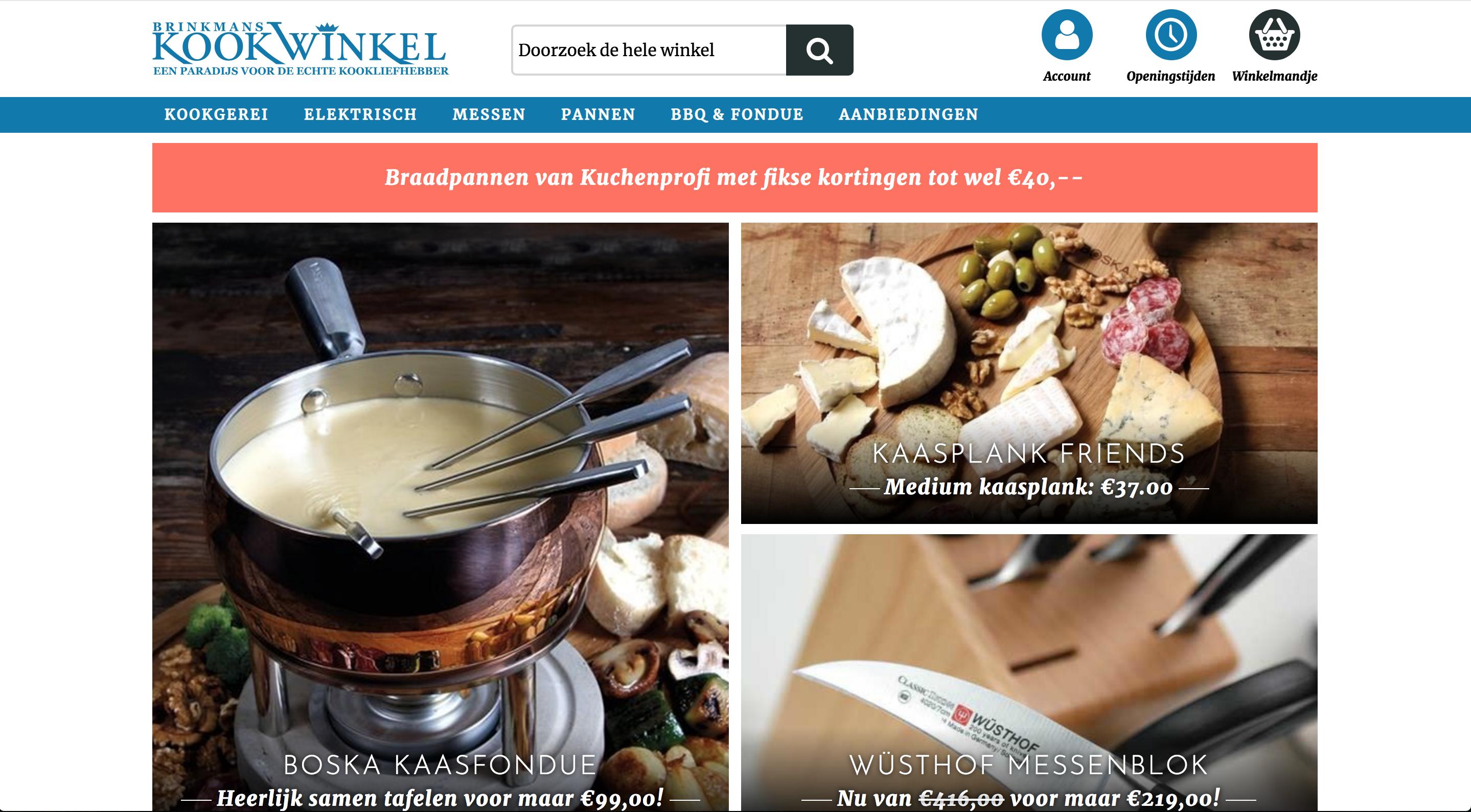 Dennis van Oers - Brinkmans Kookwinkel
